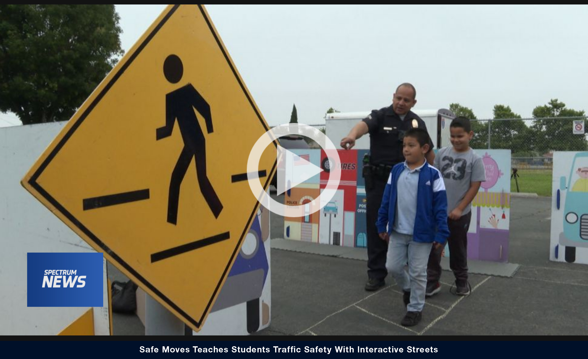 Safe Moves Teaches Students Traffic Safety With Interactive Streets